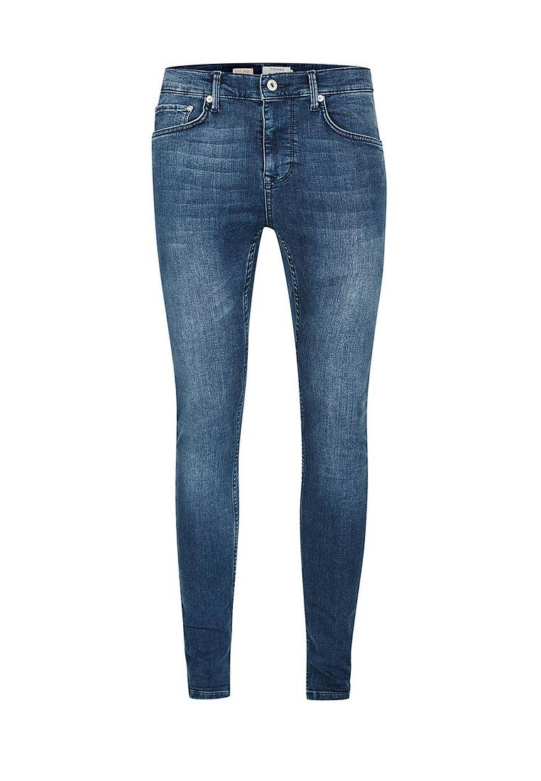 Зауженные джинсы Topman (Топмэн) 69D08OMST