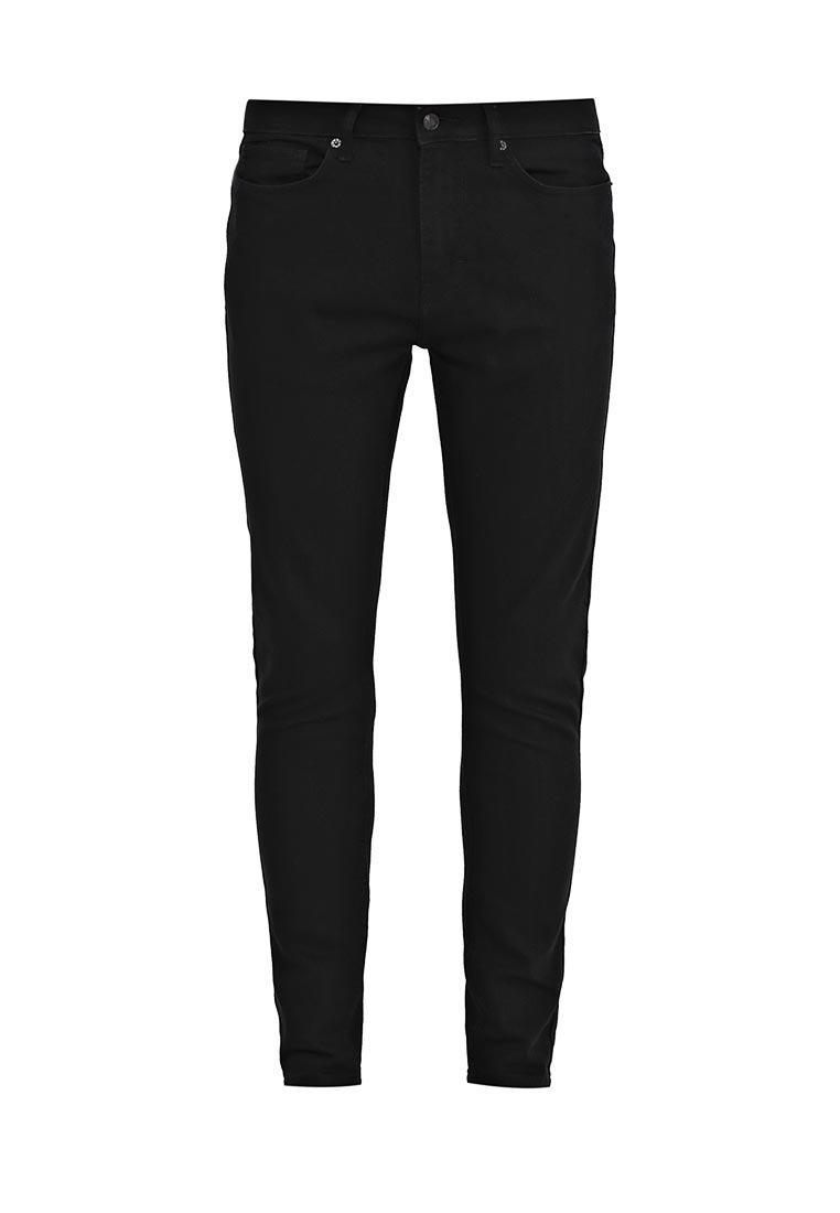 Зауженные джинсы Topman (Топмэн) 69F55NBLK