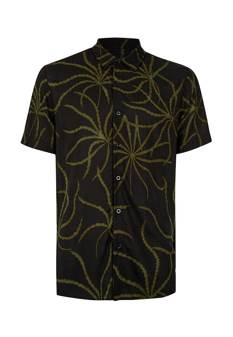 Рубашка с коротким рукавом Topman (Топмэн) 83D04NBLK