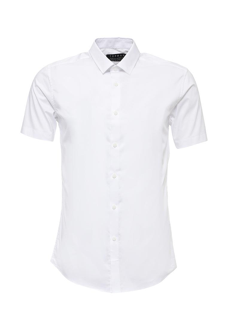 Рубашка с коротким рукавом Topman (Топмэн) 84A01NWHT