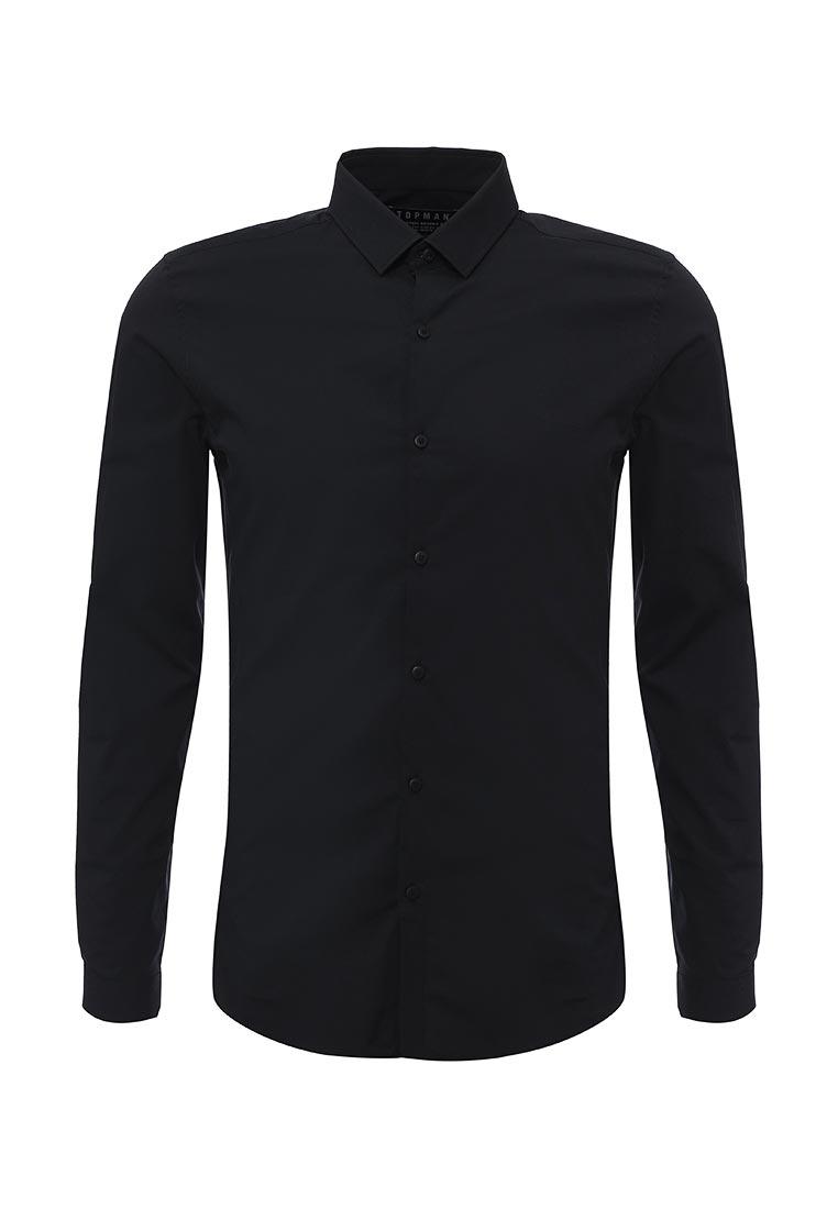 Рубашка с длинным рукавом Topman (Топмэн) 84L13NBLK
