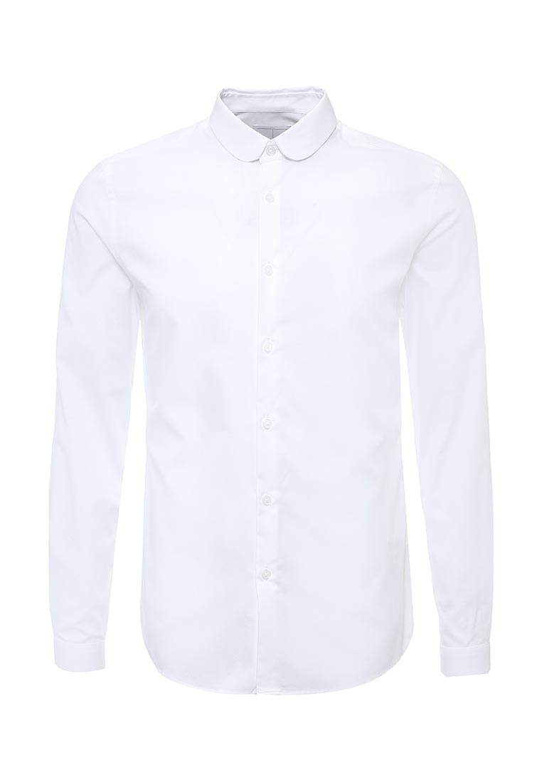 Рубашка с длинным рукавом Topman (Топмэн) 84P03MWHT