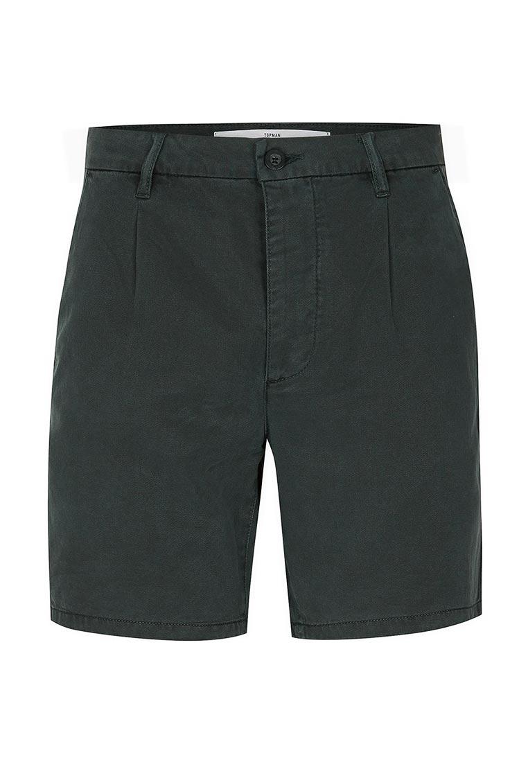 Мужские повседневные шорты Topman (Топмэн) 33U02NGRN