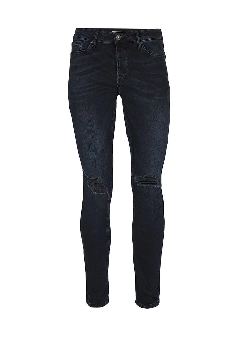 Зауженные джинсы Topman (Топмэн) 69B33NDST