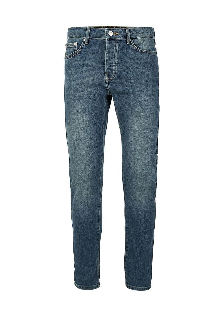 Мужские прямые джинсы Topman (Топмэн) 69J22OMST