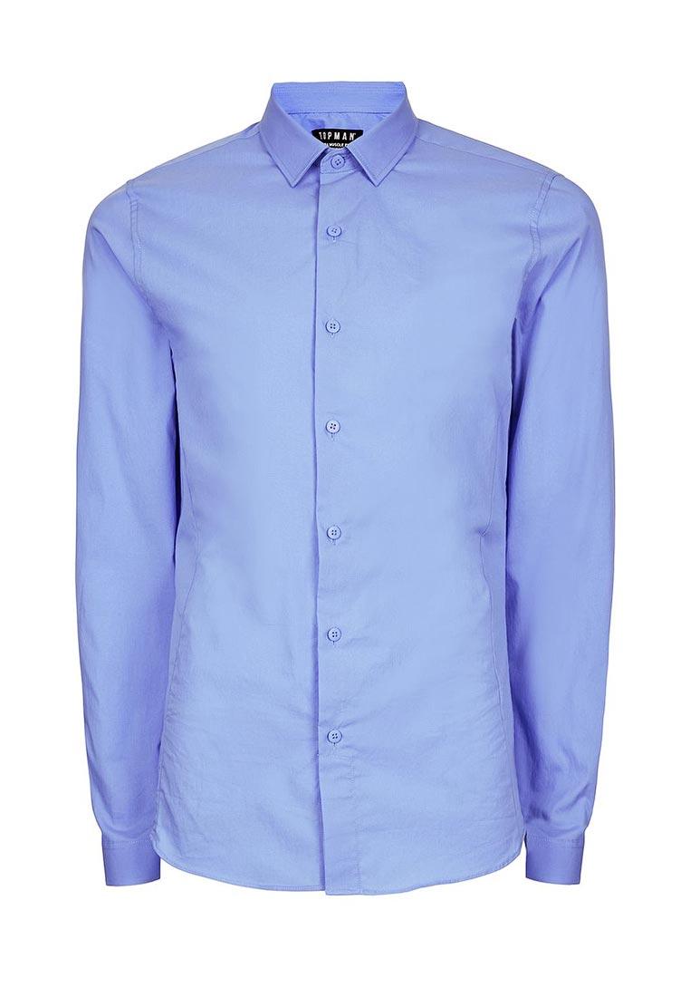 Рубашка с длинным рукавом Topman (Топмэн) 84L18NBLE