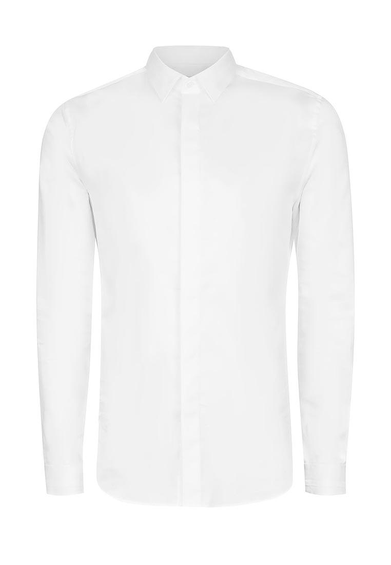 Рубашка с длинным рукавом Topman (Топмэн) 84P09NWHT
