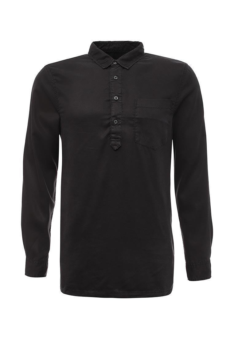 Рубашка с длинным рукавом Topman (Топмэн) 83B23NBLK