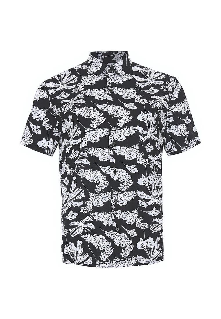 Рубашка с коротким рукавом Topman (Топмэн) 83D12NBLK