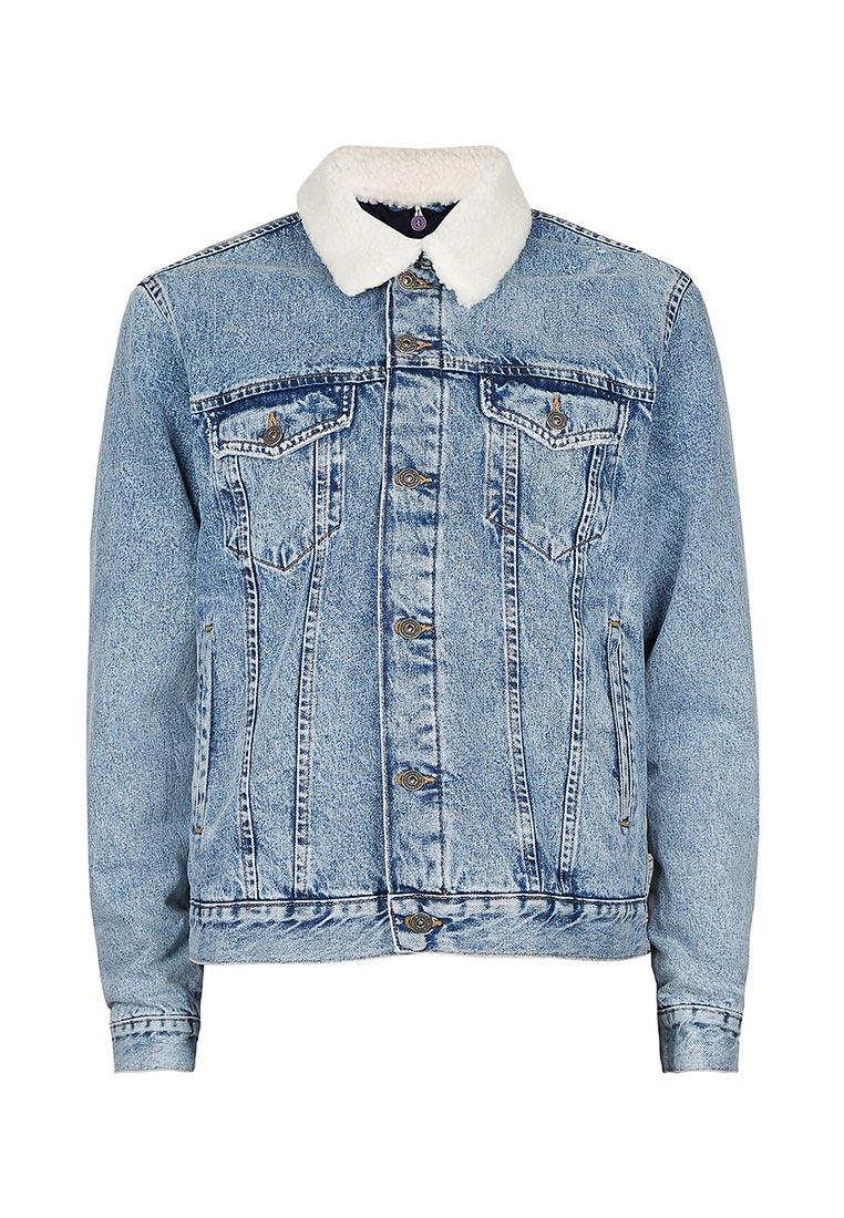 Джинсовая куртка Topman (Топмэн) 64P02PBLE