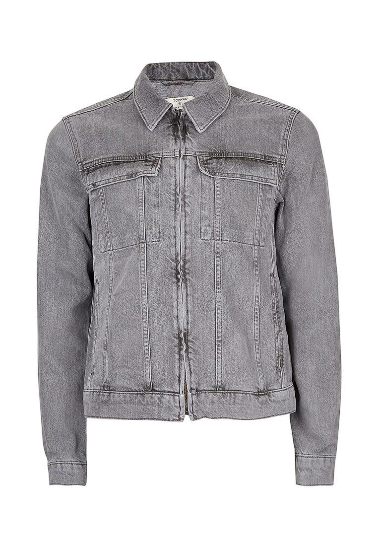 Джинсовая куртка Topman (Топмэн) 64P09LGRY