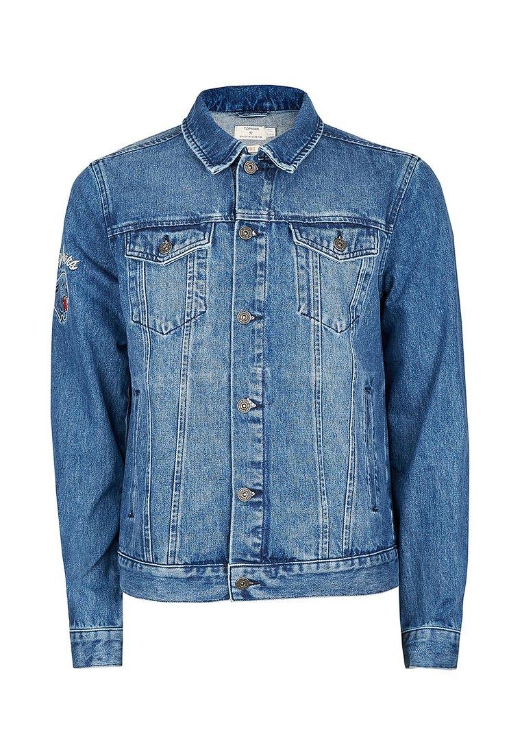 Джинсовая куртка Topman (Топмэн) 64P78LBLE
