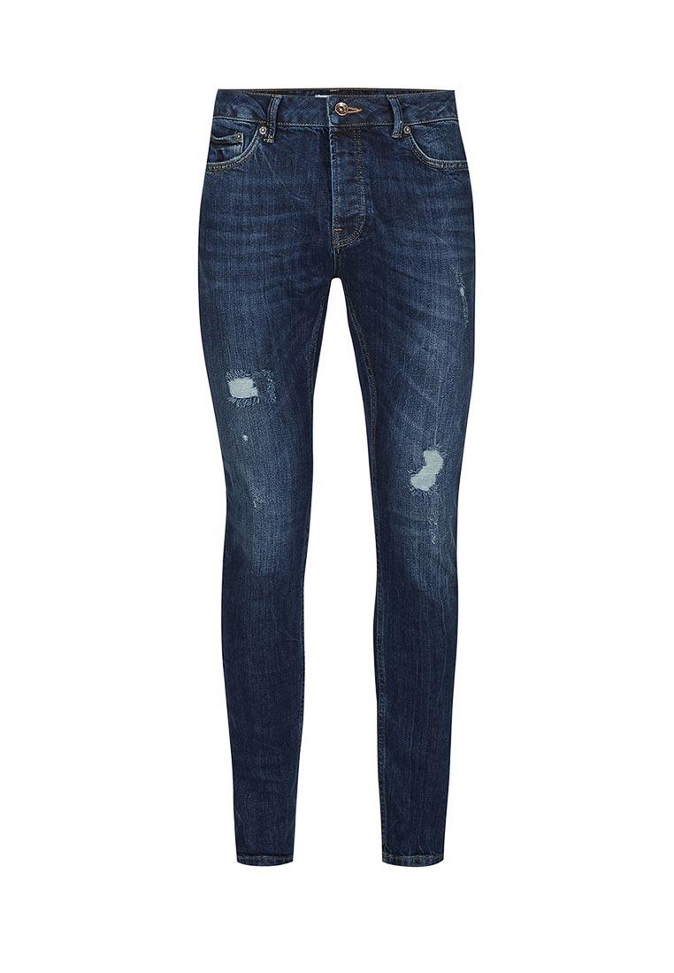 Зауженные джинсы Topman (Топмэн) 69B22OIND