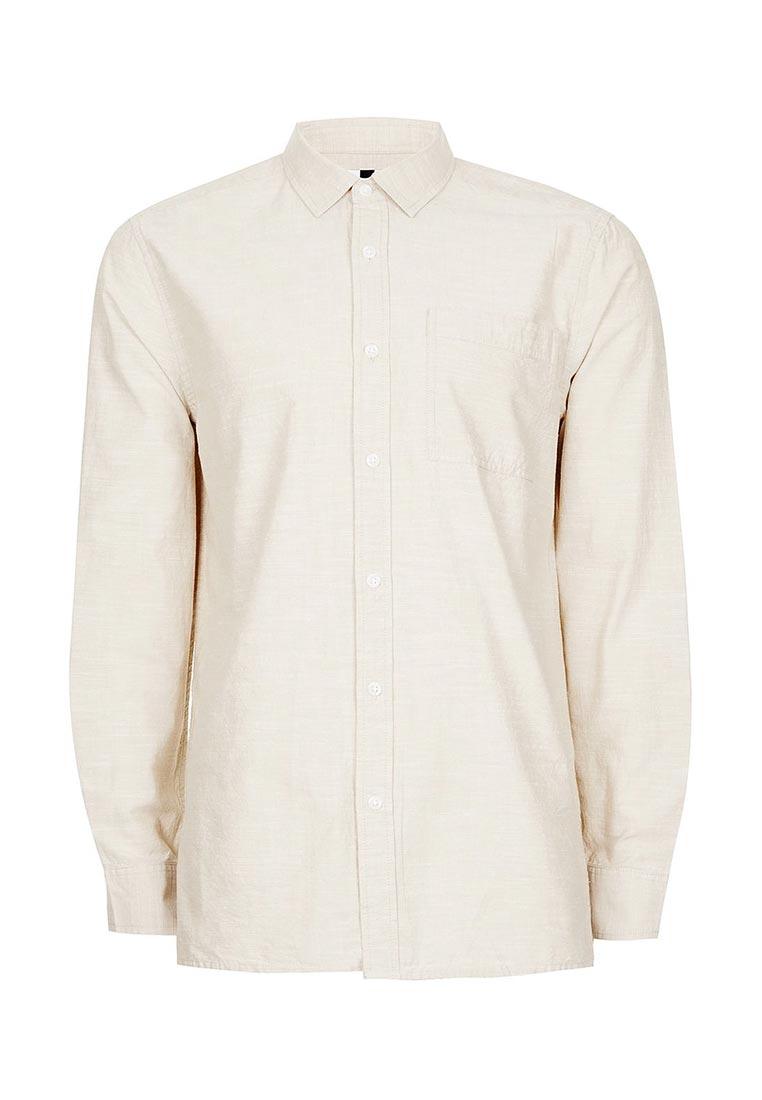 Рубашка с длинным рукавом Topman (Топмэн) 83B25NSTN
