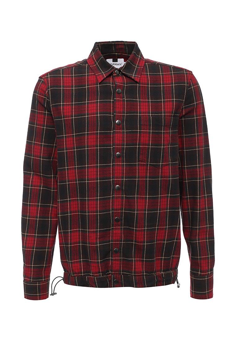Рубашка с длинным рукавом Topman (Топмэн) 83O11NRED