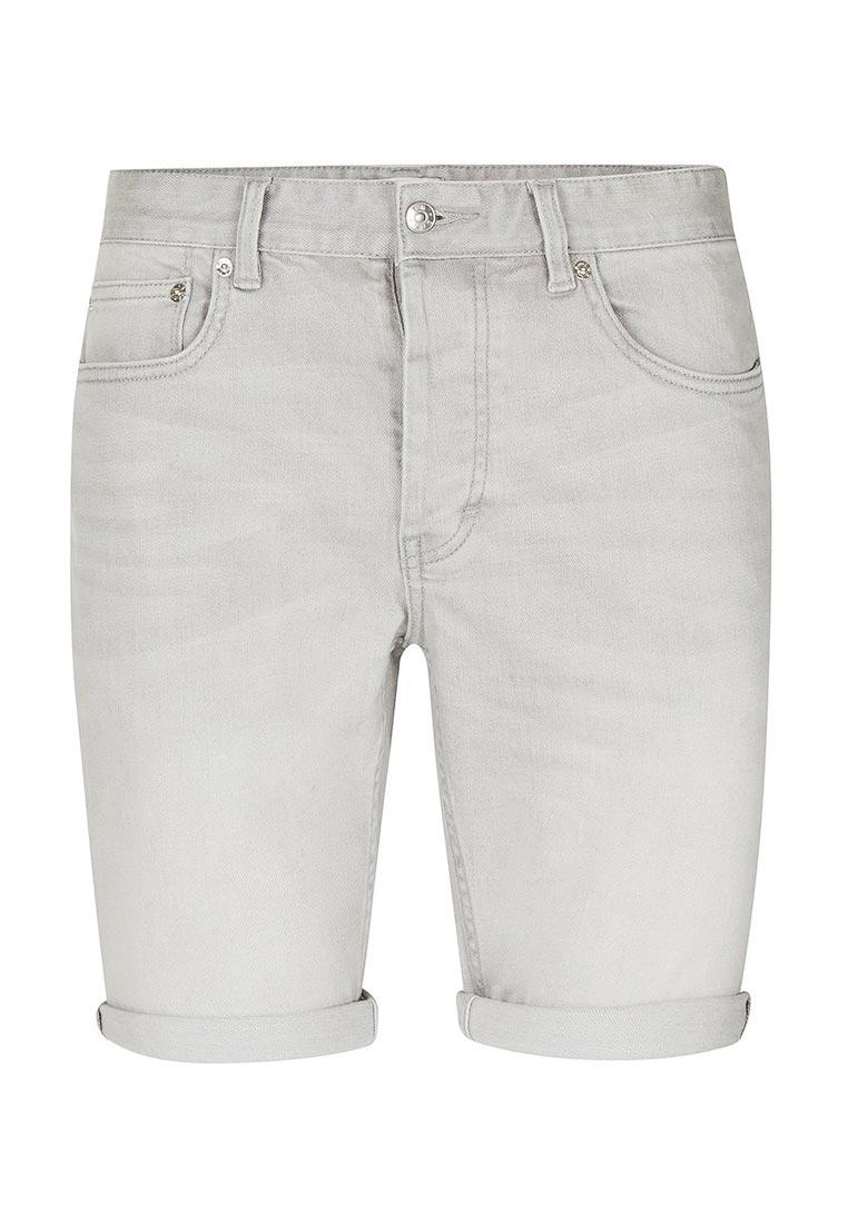 Мужские джинсовые шорты Topman (Топмэн) 33D03NGRY