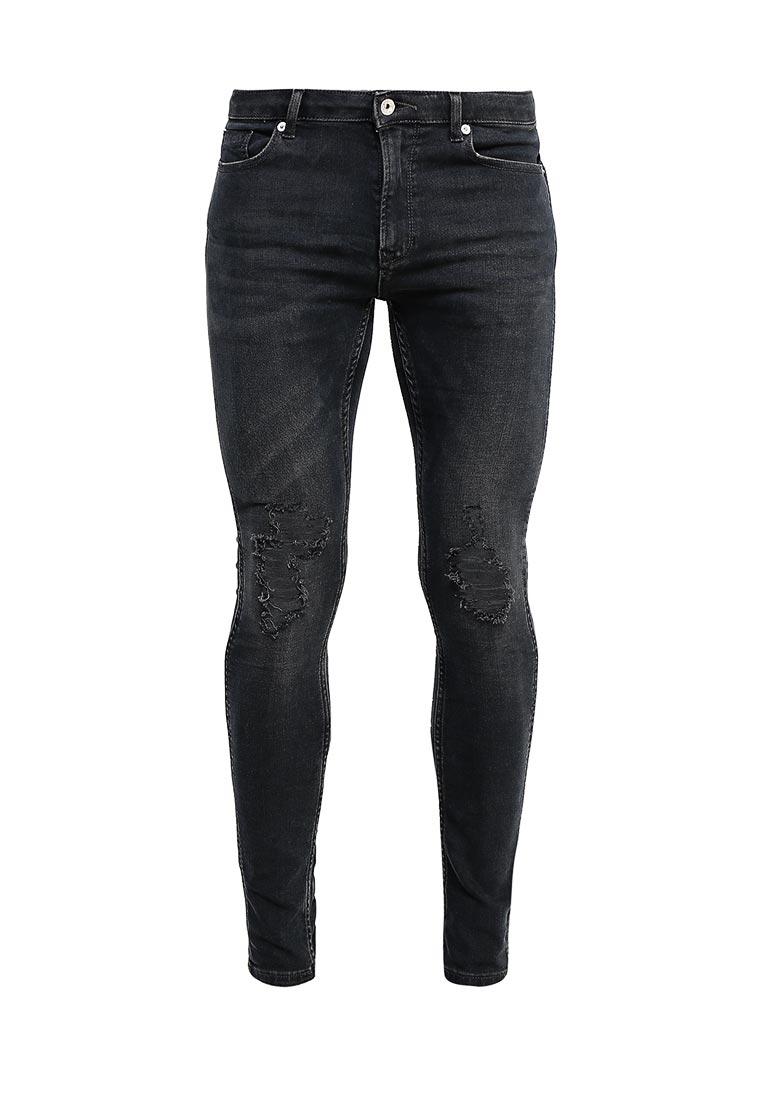 Зауженные джинсы Topman (Топмэн) 69D10ODST
