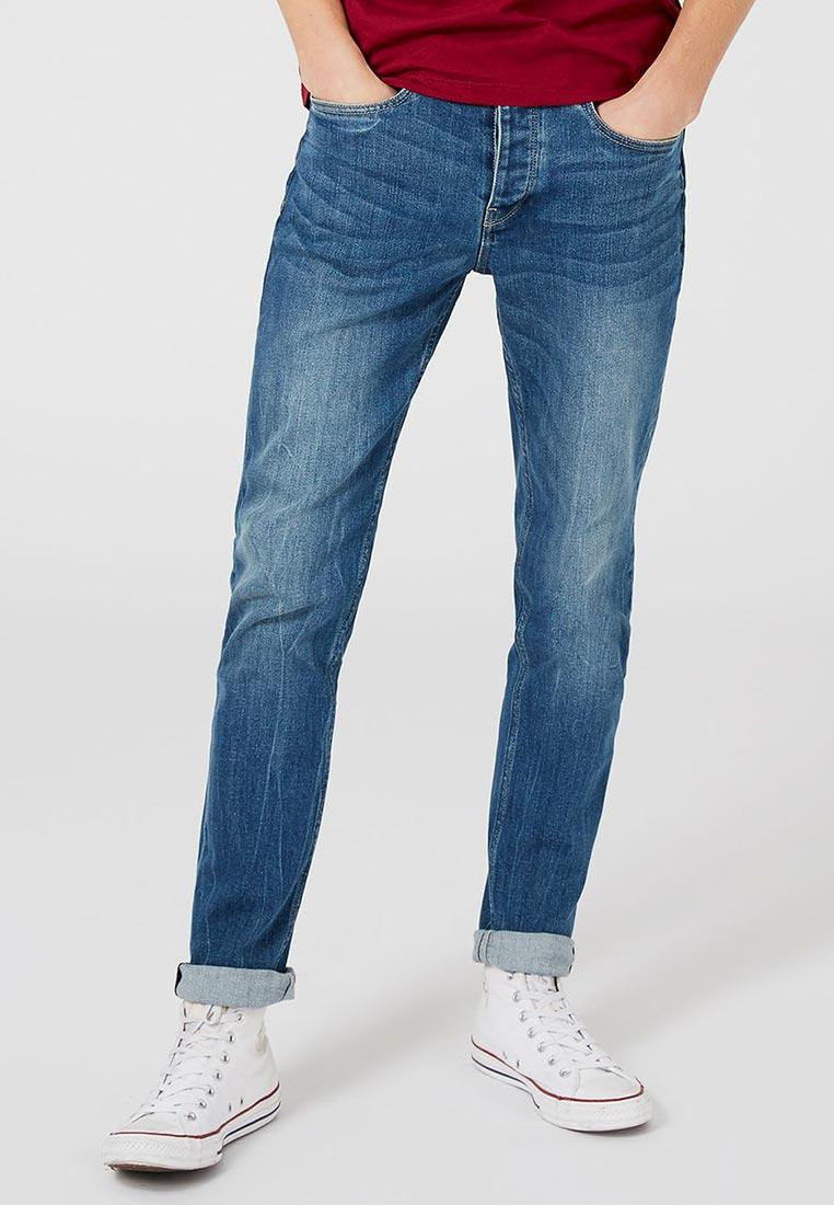 Зауженные джинсы Topman (Топмэн) 69F18OGRY