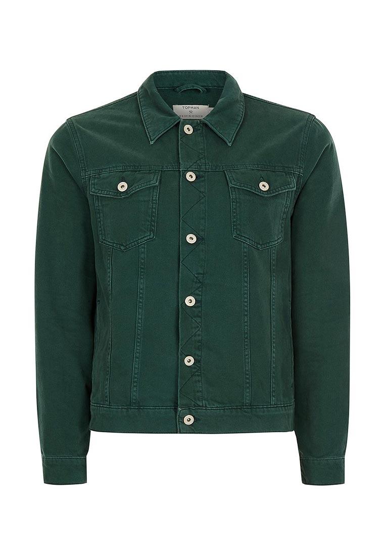 Джинсовая куртка Topman (Топмэн) 64P26LGRN
