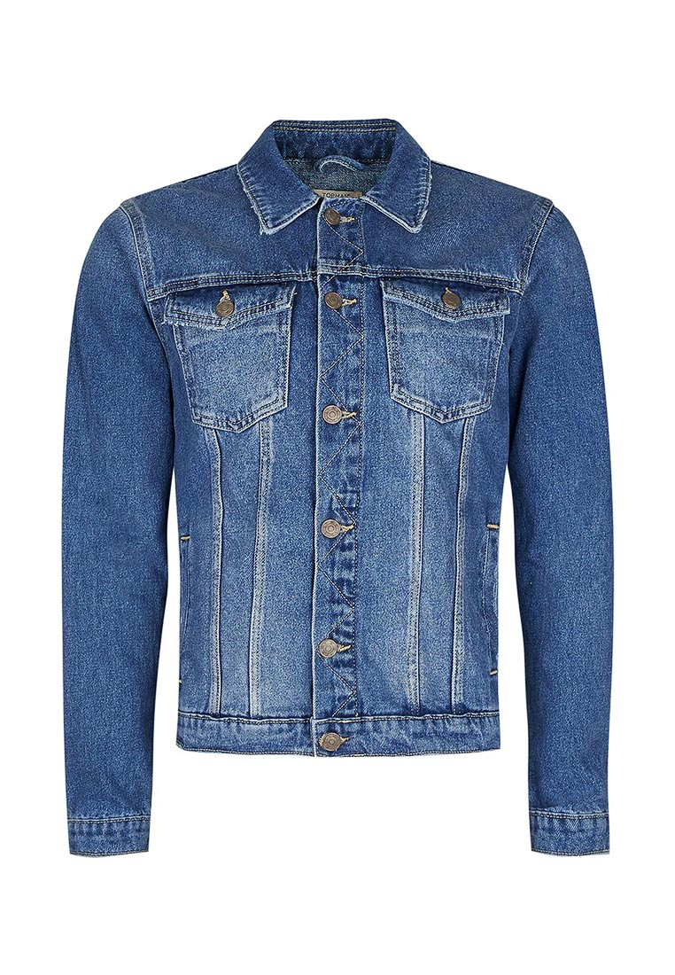 Джинсовая куртка Topman (Топмэн) 64P89LBLE