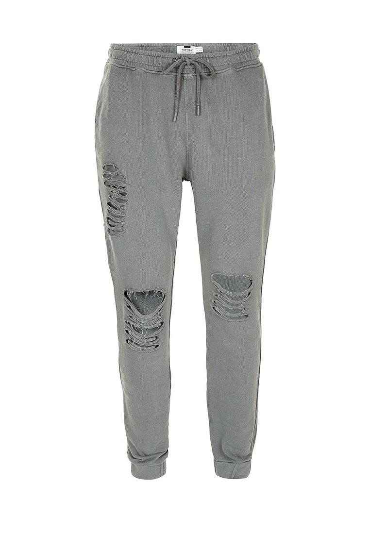Мужские спортивные брюки Topman (Топмэн) 68J45NBLK