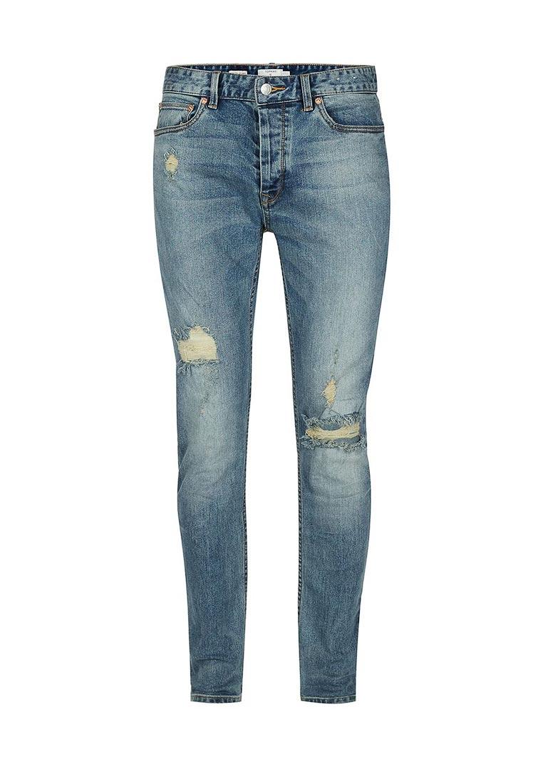 Зауженные джинсы Topman (Топмэн) 69B21OLST