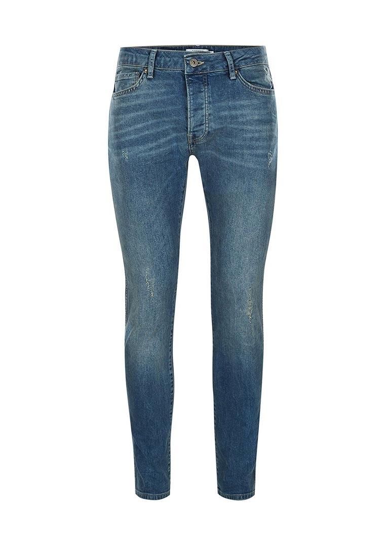 Зауженные джинсы Topman (Топмэн) 69B49NMST