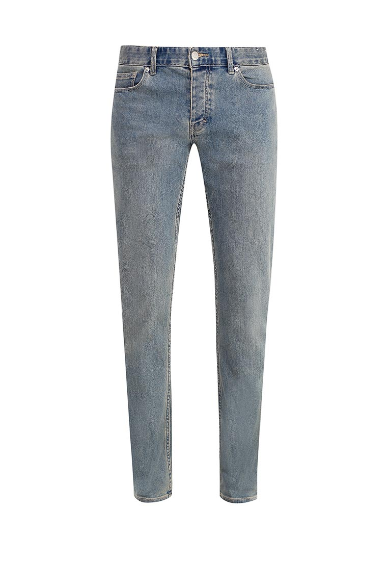 Зауженные джинсы Topman (Топмэн) 69F39NLST