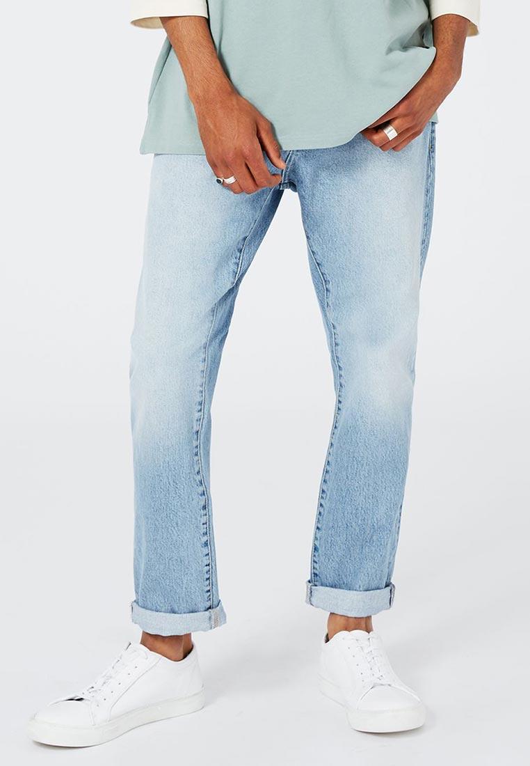Зауженные джинсы Topman (Топмэн) 80D06MBLE