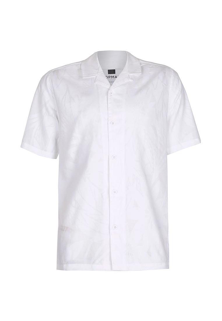 Рубашка с коротким рукавом Topman (Топмэн) 83D28NWHT