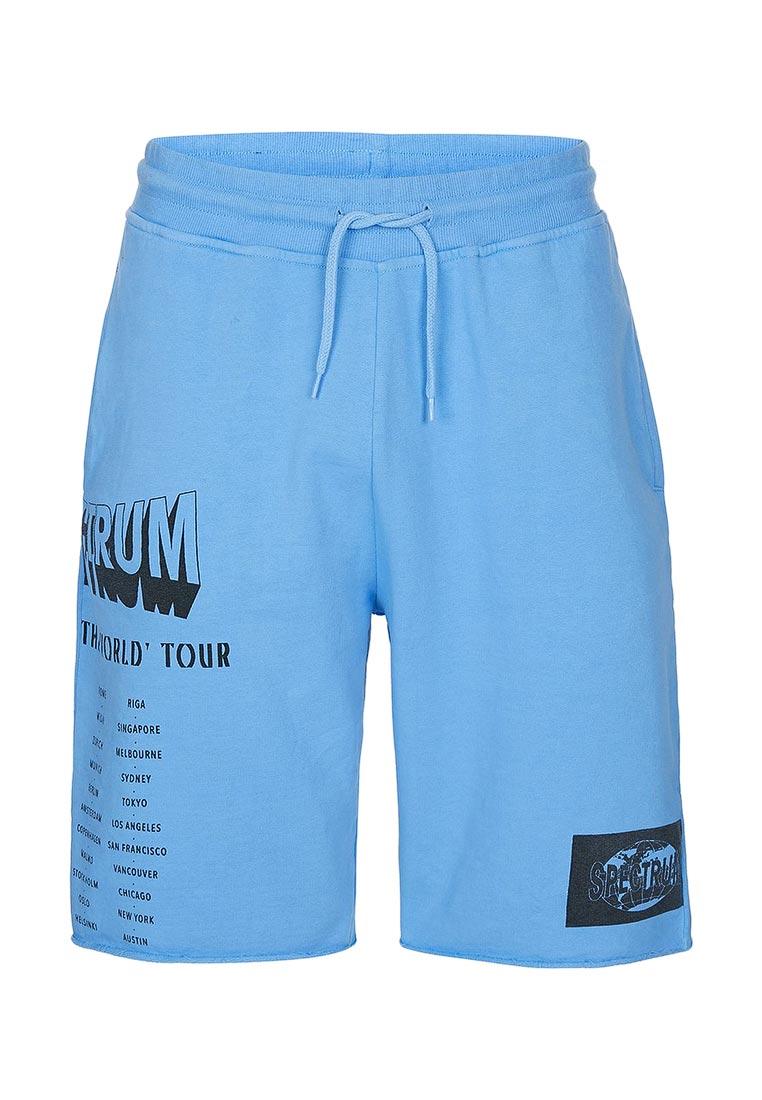 Мужские спортивные шорты Topman (Топмэн) 33J14NBLE
