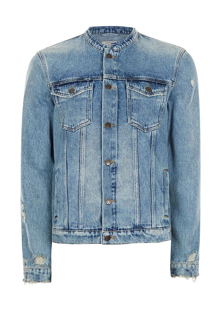 Джинсовая куртка Topman (Топмэн) 64P16PBLE