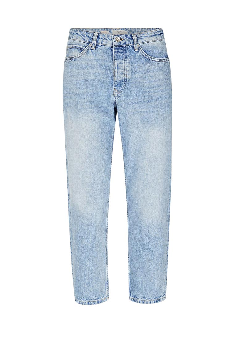 Зауженные джинсы Topman (Топмэн) 69J19OLST