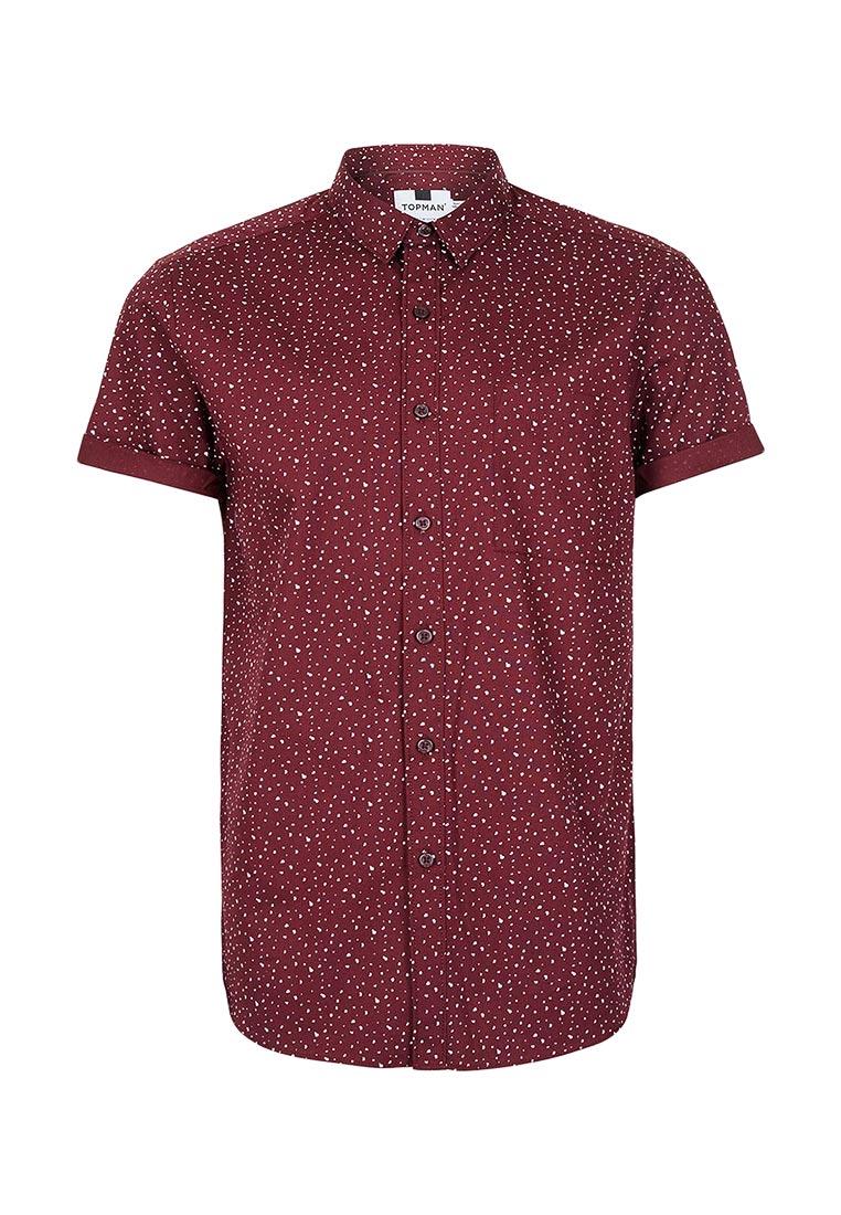 Рубашка с коротким рукавом Topman (Топмэн) 83D30NBRG