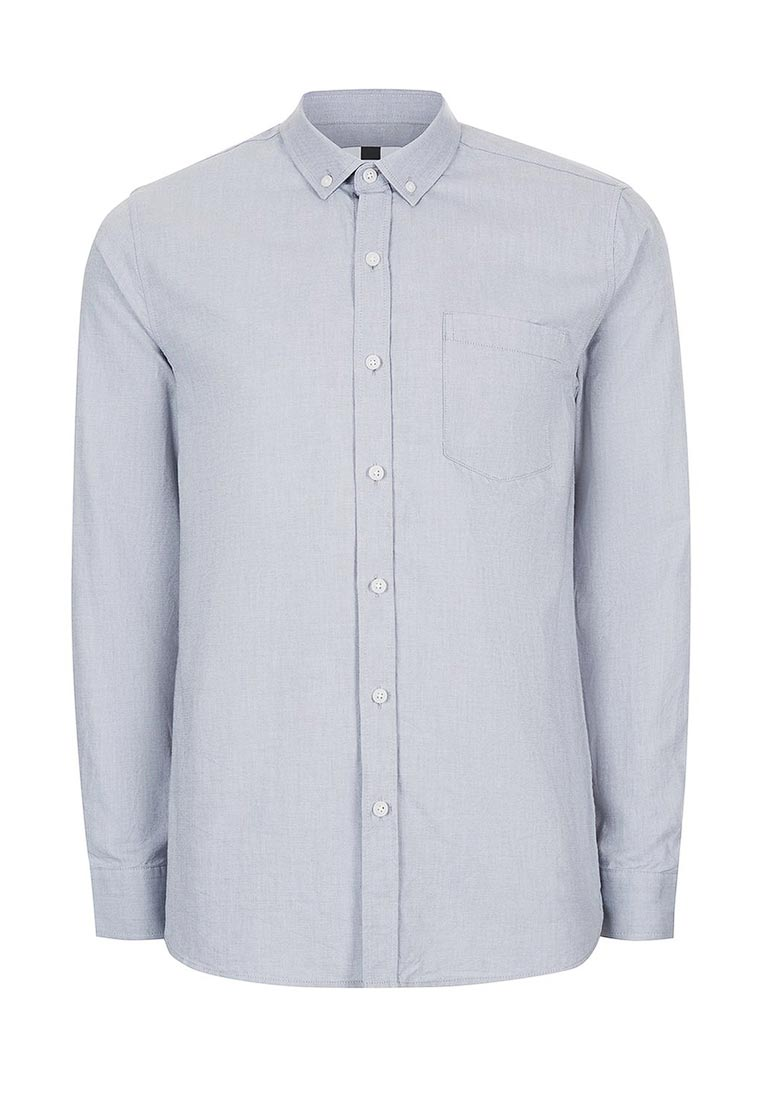 Рубашка с длинным рукавом Topman (Топмэн) 83B49NGRY