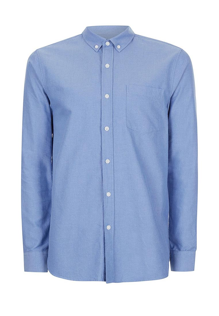 Рубашка с длинным рукавом Topman (Топмэн) 83B53NBLE