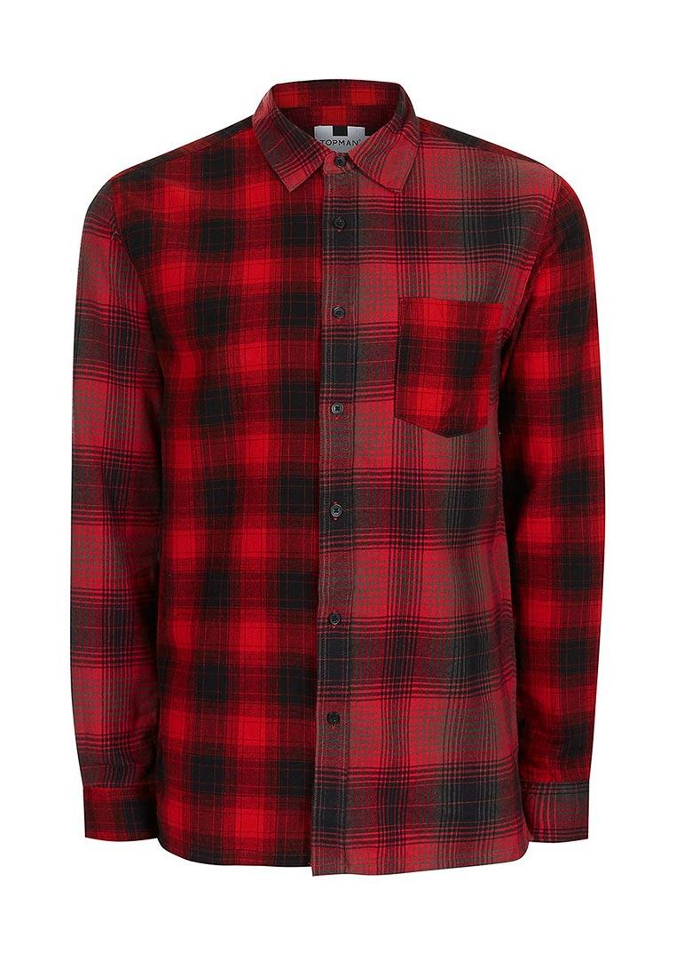 Рубашка с длинным рукавом Topman (Топмэн) 83C12NRED