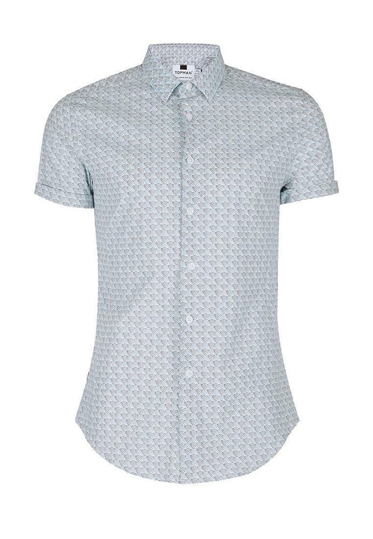Рубашка с коротким рукавом Topman (Топмэн) 84B08NMUL