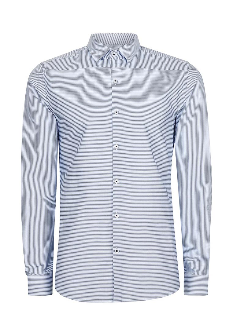 Рубашка с длинным рукавом Topman (Топмэн) 84C10NBLE