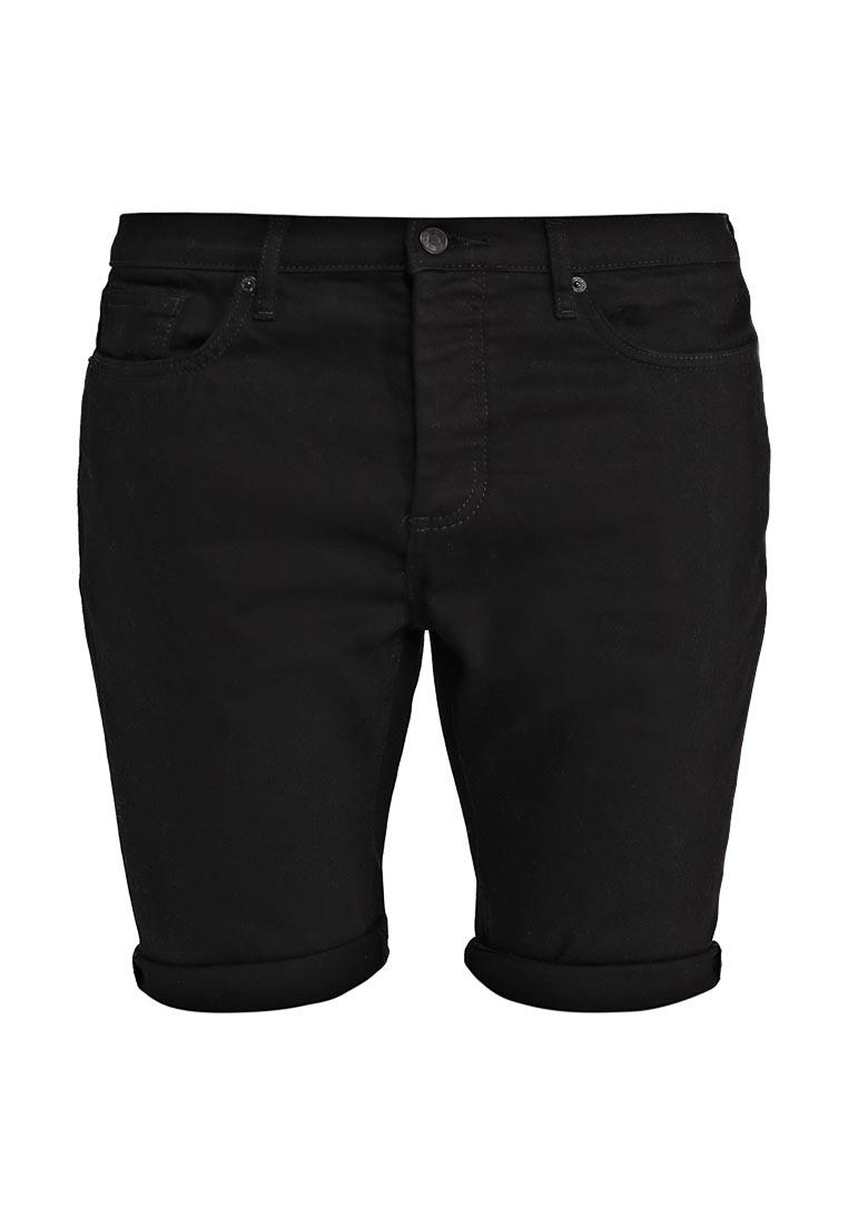 Мужские джинсовые шорты Topman (Топмэн) 33D10NBLK