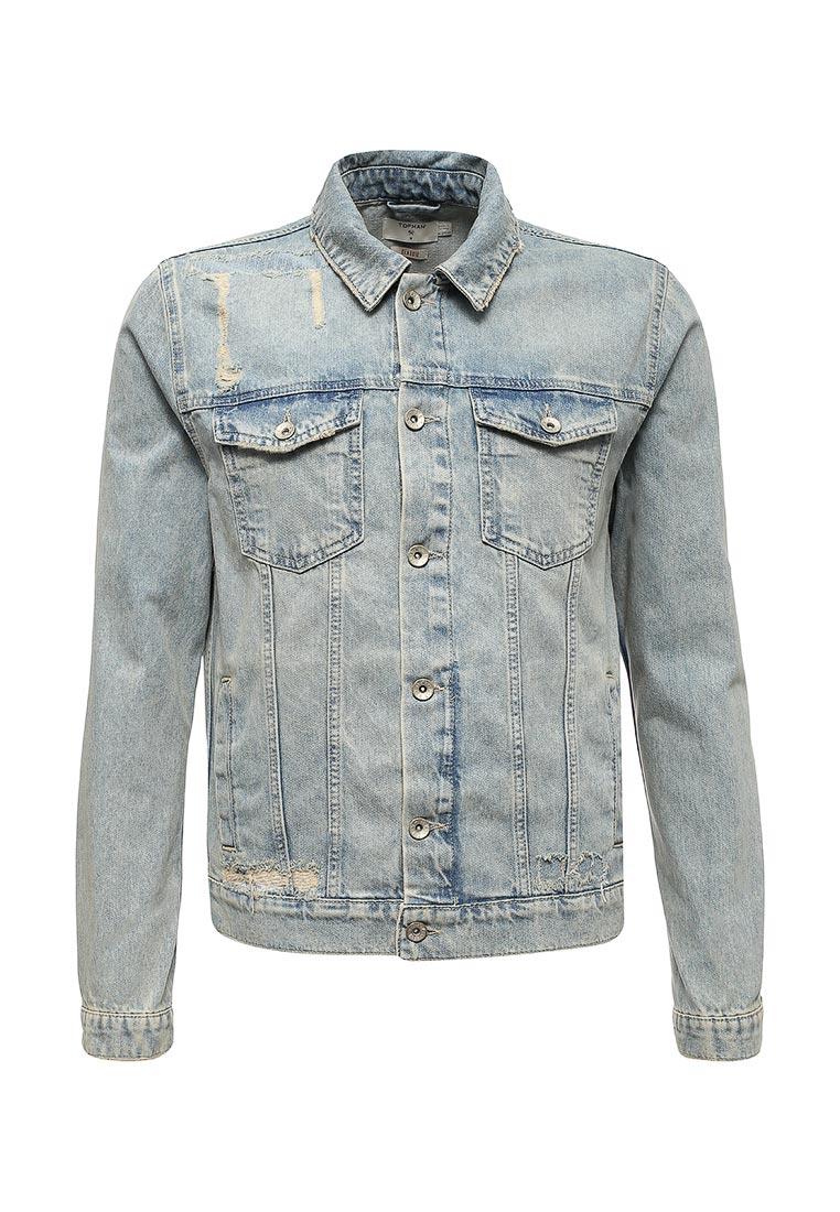 Джинсовая куртка Topman (Топмэн) 64P17PBLE