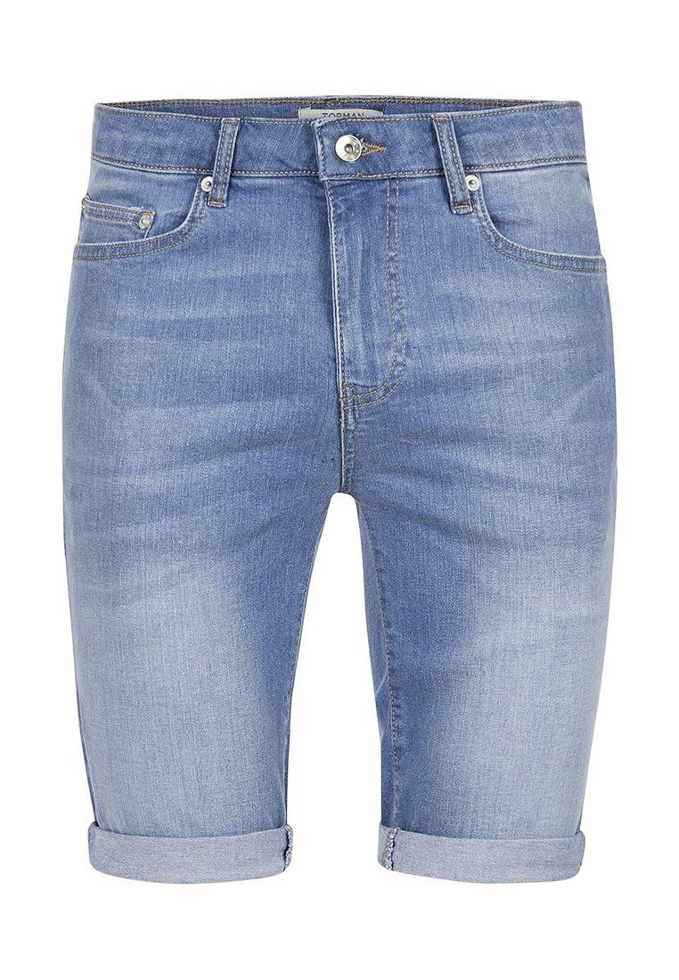 Мужские джинсовые шорты Topman (Топмэн) 33D06NBLE