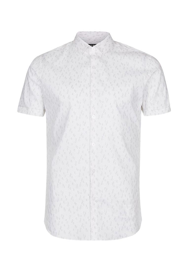 Рубашка с коротким рукавом Topman (Топмэн) 84B05NSTN