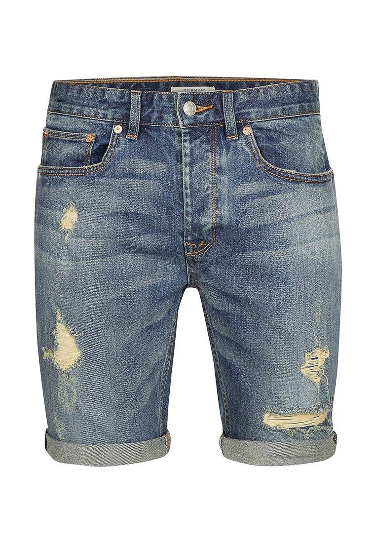 Мужские повседневные шорты Topman (Топмэн) 33C11NBLE