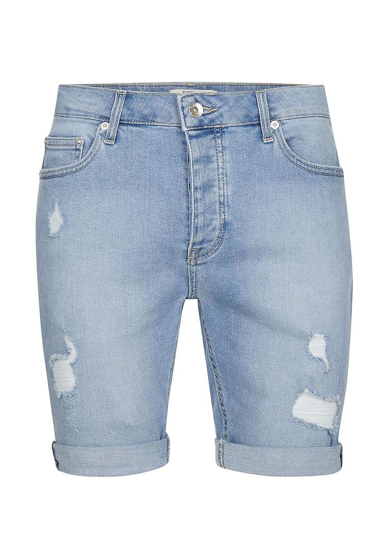 Мужские повседневные шорты Topman (Топмэн) 33C21NLBL