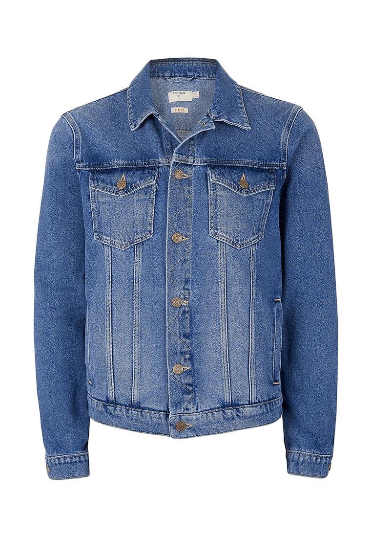 Джинсовая куртка Topman (Топмэн) 64P90LBLE