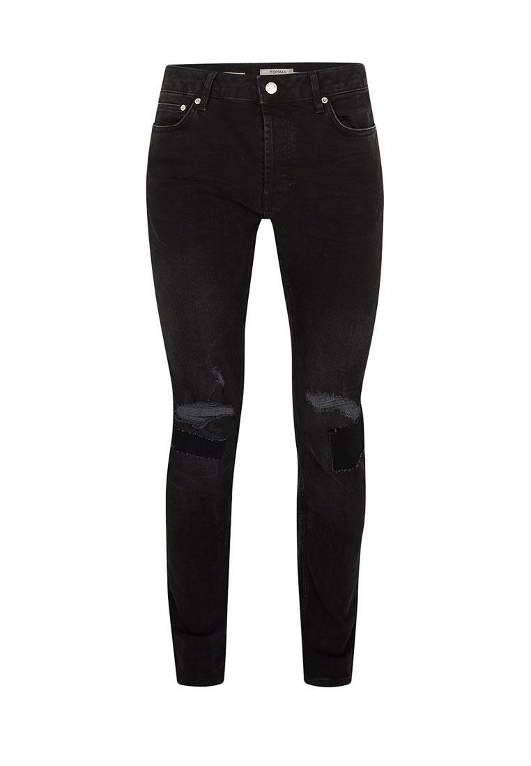 Зауженные джинсы Topman (Топмэн) 69B34OBLK