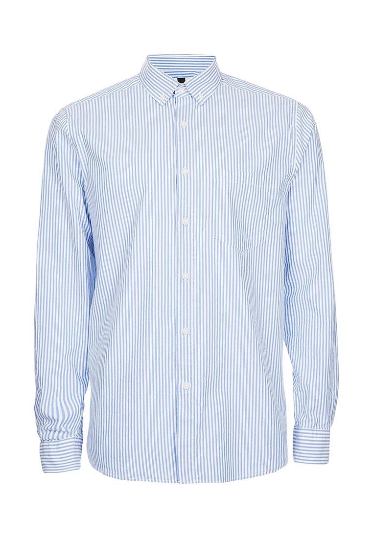 Рубашка с длинным рукавом Topman (Топмэн) 83U03OBLE
