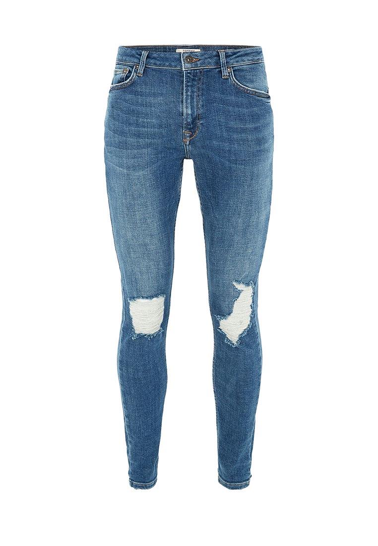 Зауженные джинсы Topman (Топмэн) 69D11OMST