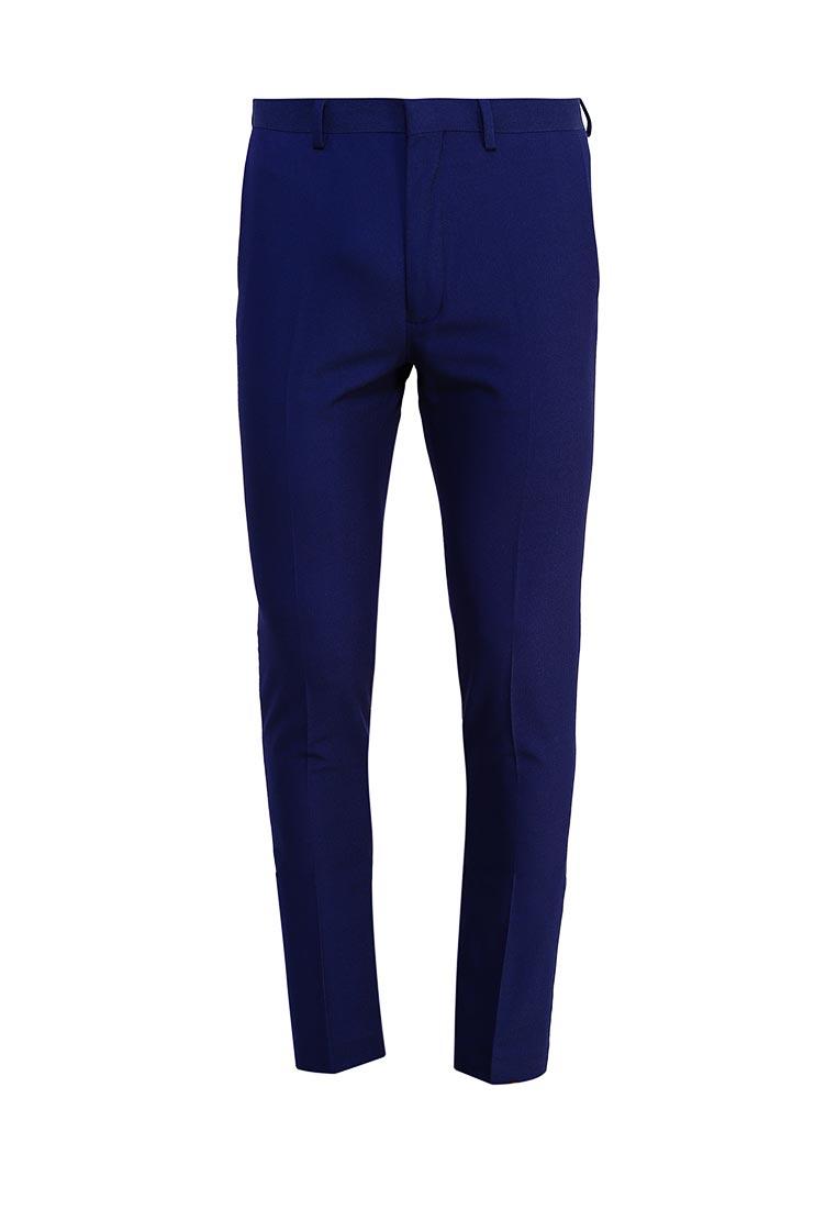 Мужские зауженные брюки Topman (Топмэн) 87T42OBLE